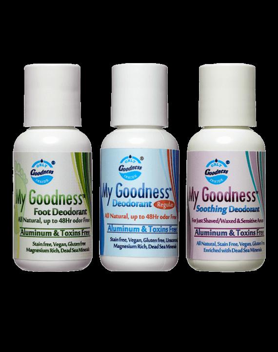 complete essential pack Aluminum free deodorant